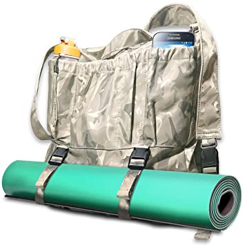Bolsa de yoga multiusos, grande, para transportar esterillas ...