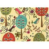 Folk Art Birds Note Cards (Boxed Cards, Stationery)