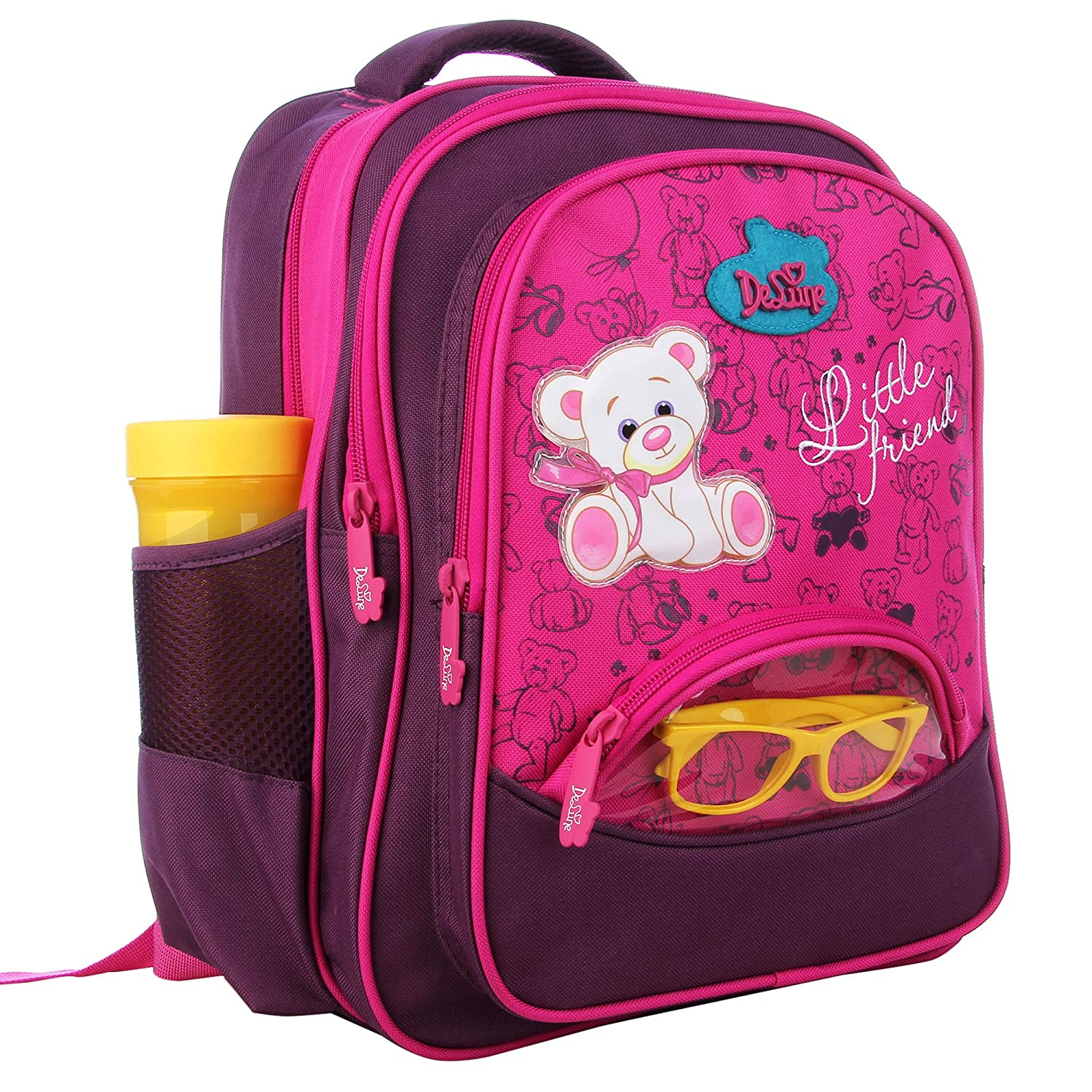 Delune Kids Backpack for Boys and Girls Primary Schoolbag -  Individual Waterproof Orthopedic Noble (DA001)  Amazon.ca  Luggage   Bags 3181add38c931