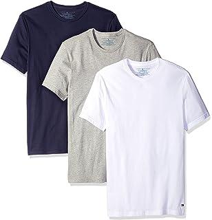 7cda570b2 Tommy Hilfiger Men's Undershirts 3 Pack Cotton Classics Crew Neck T-Shirt