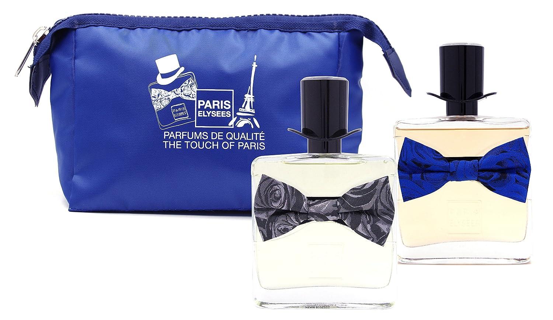 Coffret 2 Parfums homme Paris Elysees collection Parfum de l'Homme + 1 pochette en cadeau