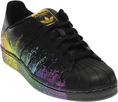 classcic la più grande selezione di meglio Amazon.com | Adidas Originals Men's Superstar Pride Pack Shoes ...