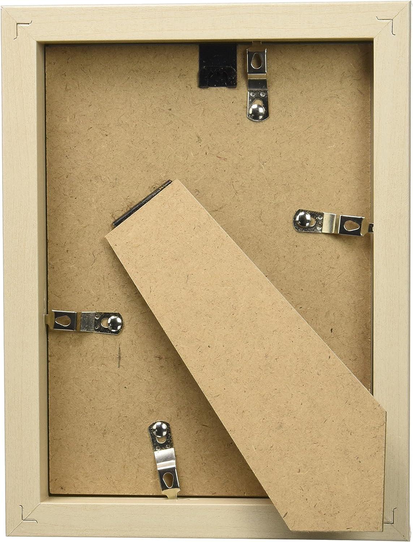 Stockholm Cadre en bois 10/x 15/cm Argent