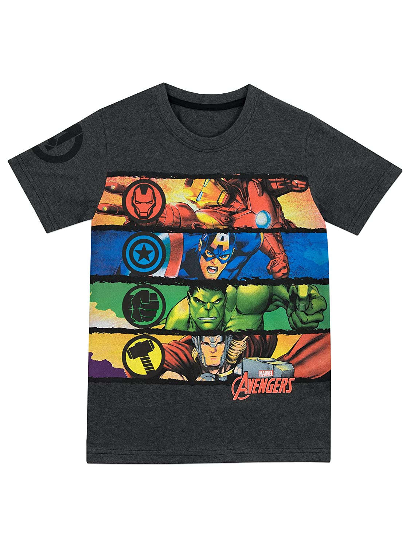 Marvel Avengers - Camiseta Para Niño - Vengadores