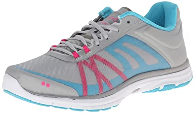 RYKA Womens Dynamic 2 CrossTraining Shoe Cool Mist GreyDetox Blue