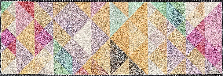Wash+dry Snorre Fußmatte, Acryl, bunt, 60x180x0.7 cm