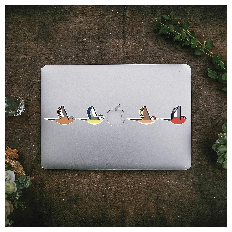 I Like Birds Stickers for Laptop Kitchen Bird Collection Sticker Pack Macbook Fridge