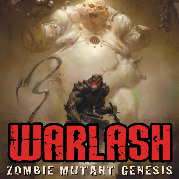 Warlash: Zombie Mutant Genesis (Issues) (4 Book Series)