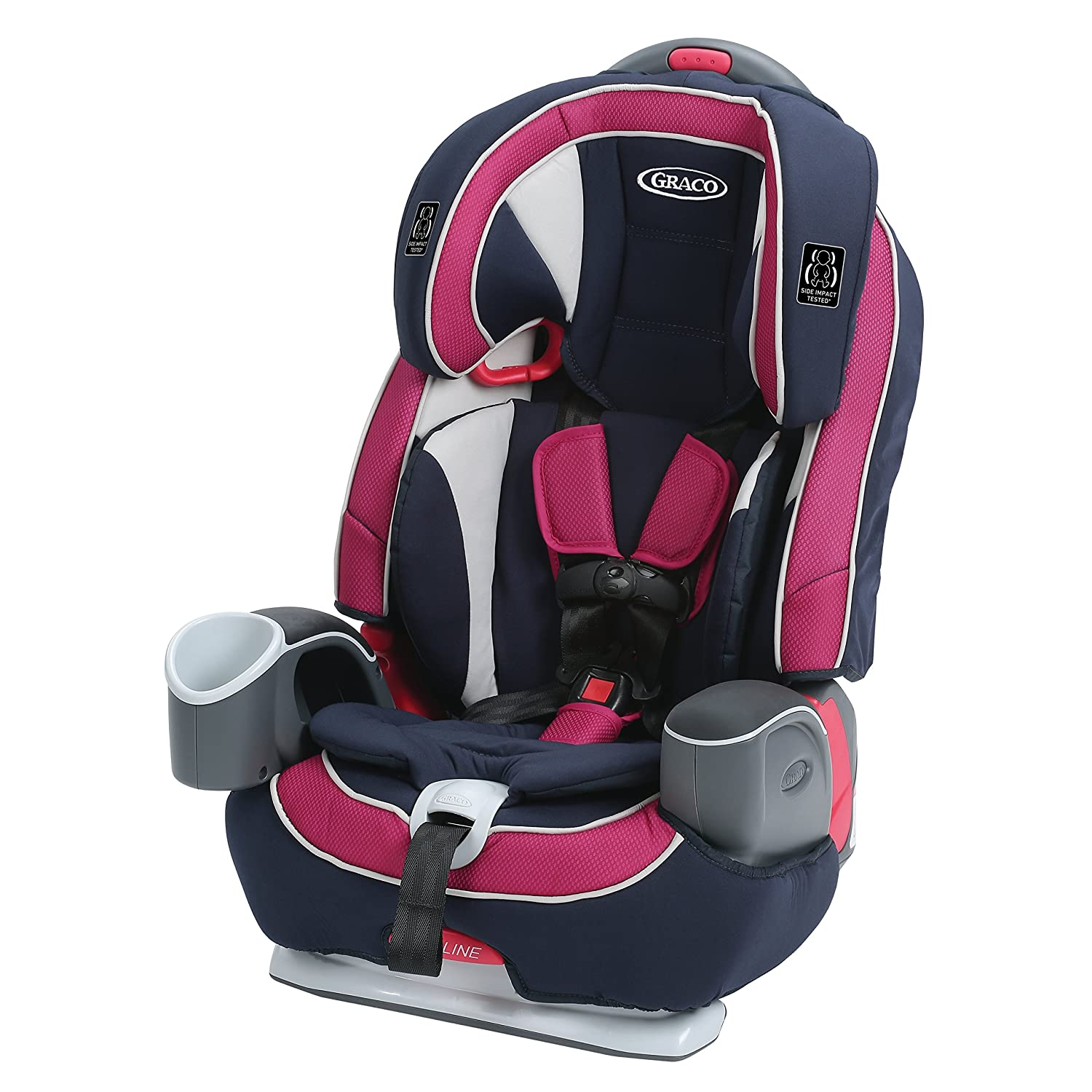 Graco Nautilus 65 LX 3-in-1 Harness Booster Car Seat, Pierce, One Size 1946250