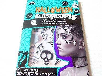 Halloween 3-D Face Stickers