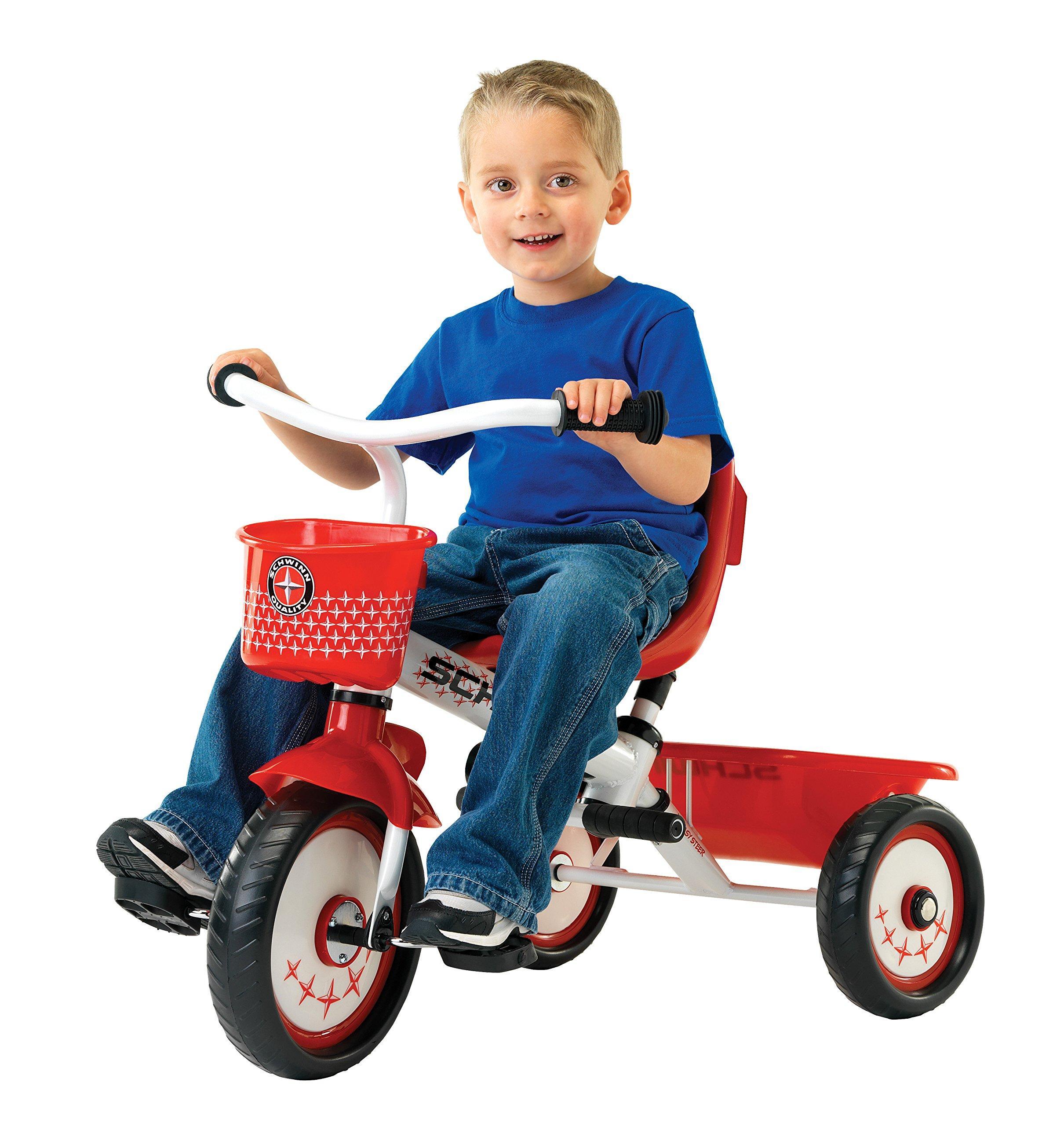 Schwinn Easy Steer Tricycle, Red/White by Schwinn (Image #4)