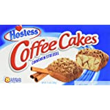 Hostess Coffee Cakes Cinnamon Streusel - 8 pieces/1pack