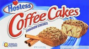 Hostess Coffee Cakes Cinnamon Streusel - 8 CT