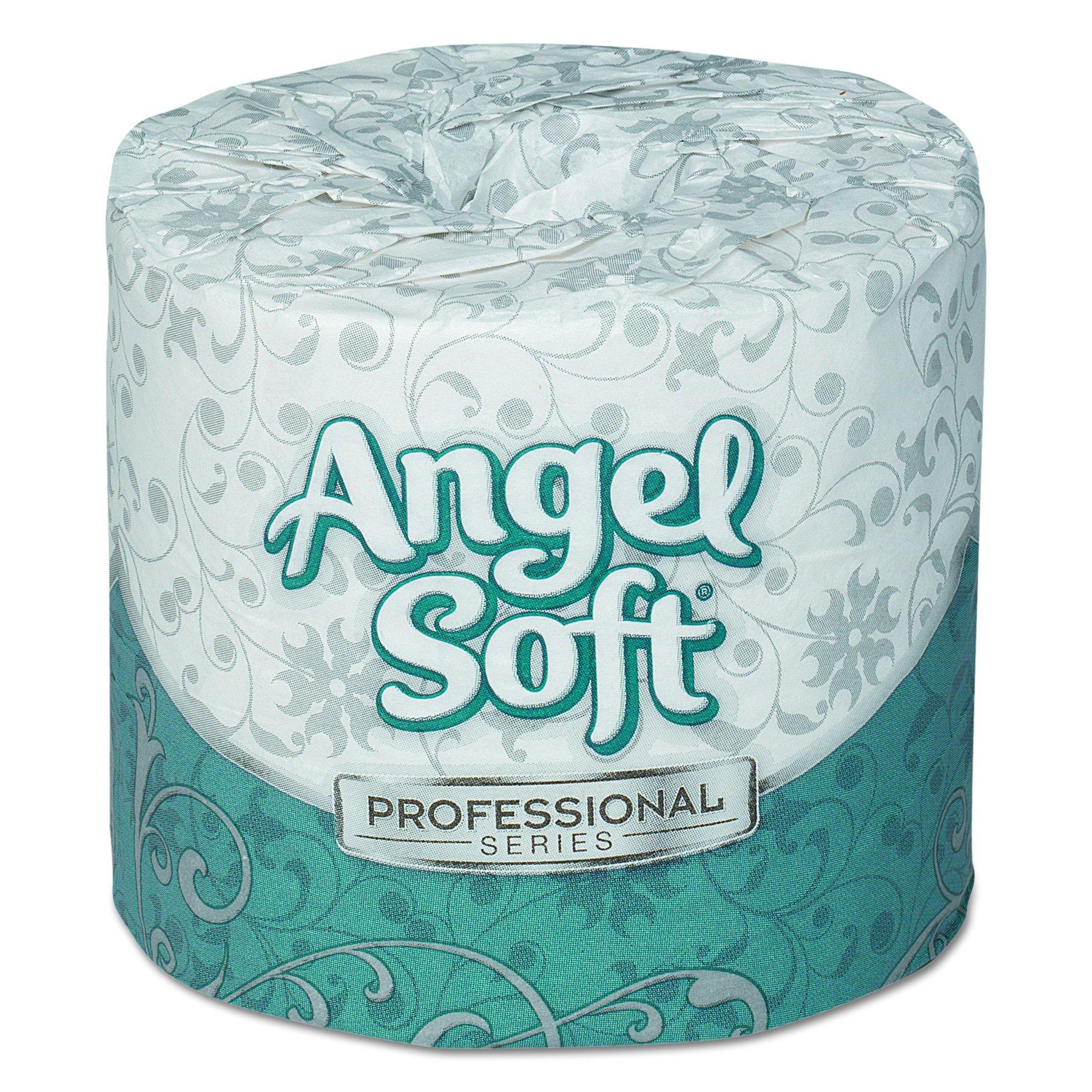 Georgia Pacific Professional 16880 Angel Soft ps Premium Bathroom Tissue, 450 Sheets per Roll (Case of 80 Rolls)