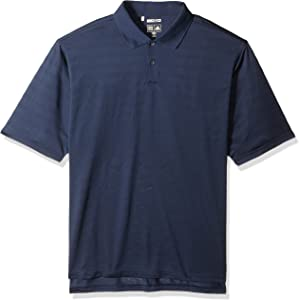 Adidas Golf A61 ClimaCool Mens Mesh Solid Textured Polo