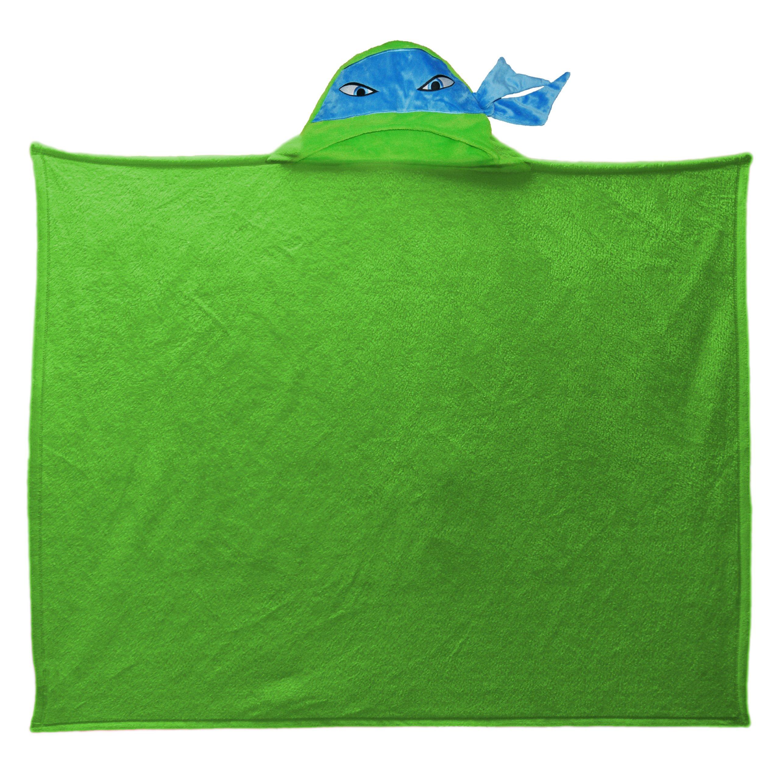 Nickelodeon's Teenage Mutant Ninja Turtles, ''Hooded Ninja'' Hooded Throw Blanket, 40'' x 50'', Multi Color