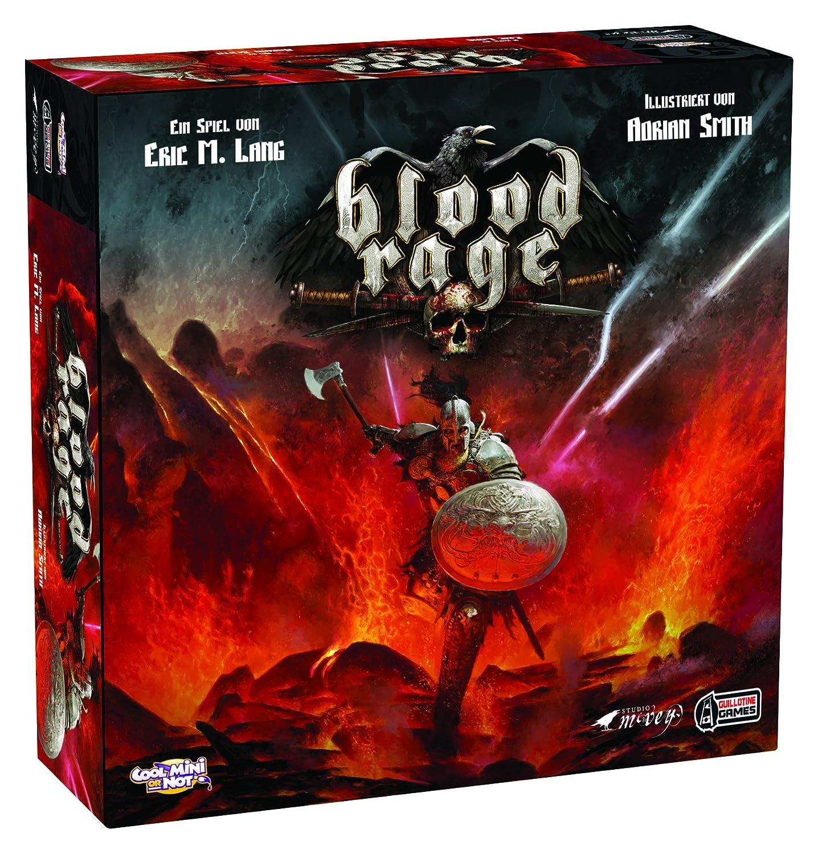 Asmodee Blood Rage Estrategia Niños y Adultos - Juego de Tablero ...