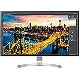 """LG 32UD89-W Écran PC LED IPS - 32"""" - 3840 x 2160 UHD 4K - 350 cd/m2-5 ms - Argent (2xHDMI, DisplayPort, USB 3.0, USB-C, DP)"""