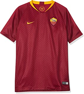 NIKE 2018-2019 AS Roma Home Football Shirt (Kids)
