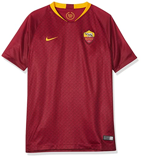 Nike JERSEY Replica Home Junior TEAM RED/UNIVERSITY GOLD 18/19 Roma 10/