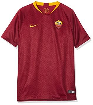 Nike 2018/19 A.S. Roma Stadium Home – Camiseta de fútbol Infantil, Team Red