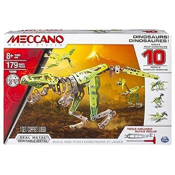 10 Meccano De Construcción Modelos 6033323 Juego Dinosaurios TK1clFJ