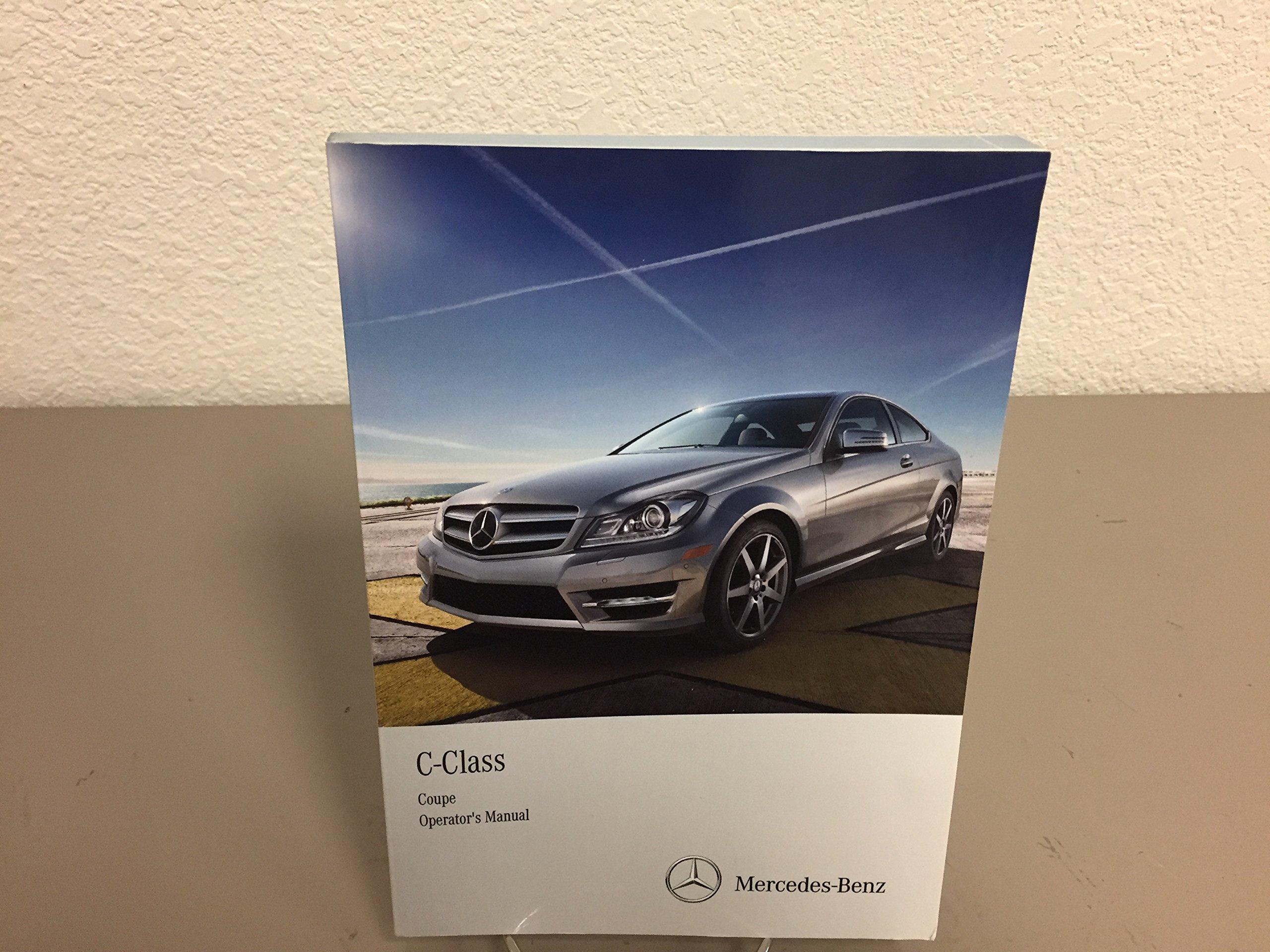 2013 mercedes benz c class coupe owner s manual for all c250 c300 rh amazon com mercedes benz linguatronic manual 2009 Mercedes E350 Manual
