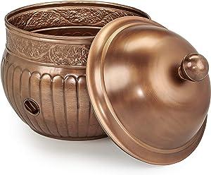 Good Directions, Inc. 449VB-458VB La Jolla Hose Pot with Lid, Copper