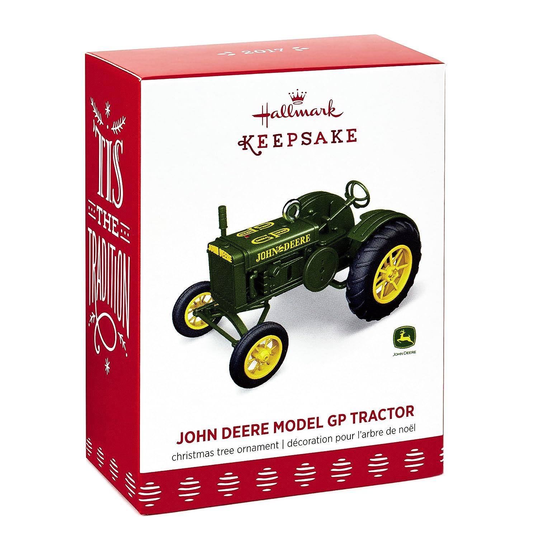 Amazon.com: Hallmark Keepsake 2017 1928 John Deere Model GP Tractor ...