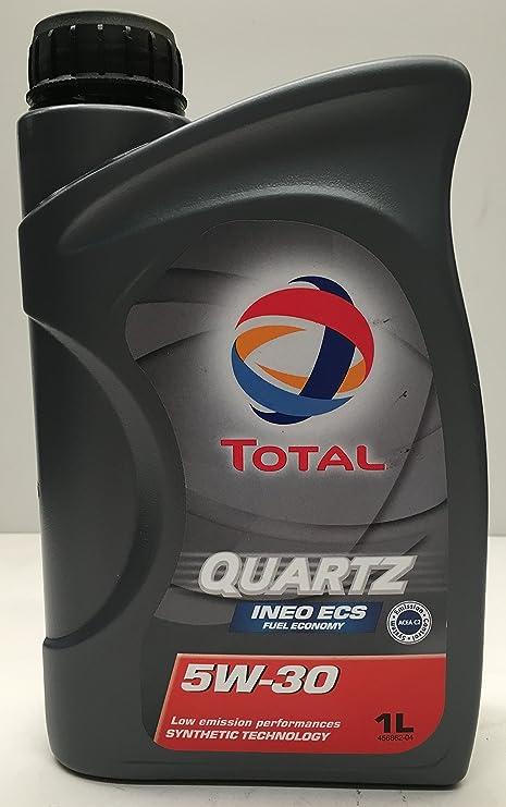 Motor Oil Total Quartz Ineo Ecs 5 1 Litre Auto