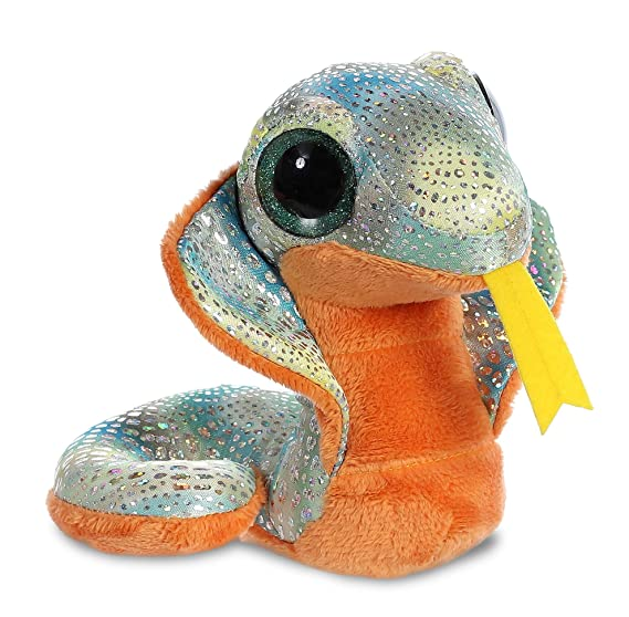 Yoo Hoo - Cobra Ojos Brillantes, 13 cm, Color Naranja (Aurora 0060029247): Amazon.es: Juguetes y juegos