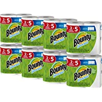 Bounty Quick-Size Paper Towels, 16 Family Rolls (White)
