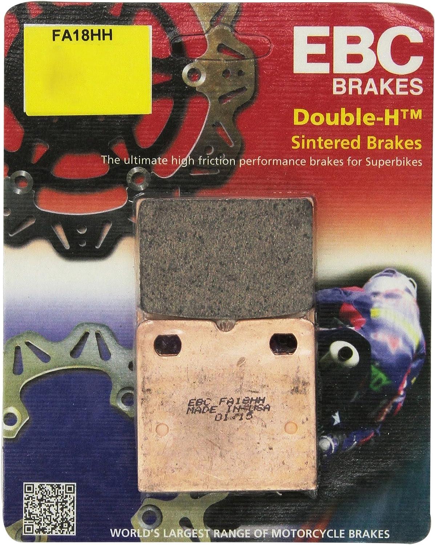 EBC Double-H Sintered Brake Pads FA18HH 2 Packs - Enough for 2 Rotors