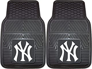 "product image for FANMATS MLB New York Yankees Vinyl Heavy Duty Car Mat , 18""x27"" - 8759"