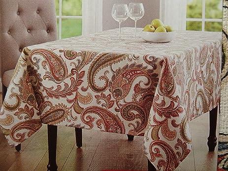 Better Homes Paisley Tablecloth 52u0026quot; X 70u0026quot;