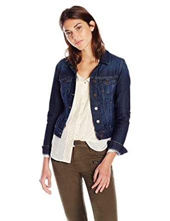 c31ae98205d Mavi Women s Samantha Cropped Denim Jacket