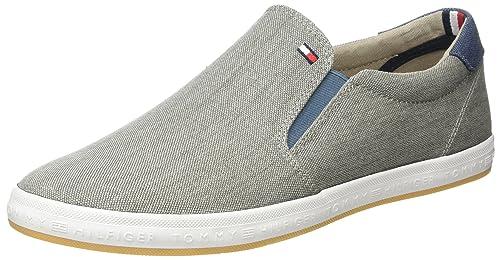 Tommy Hilfiger Essential Slip On Sneaker, Scarpe da Ginnastica Basse Uomo, Blu (Midnight 403), 41 EU