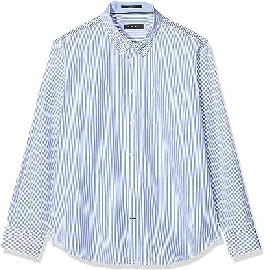 Cortefiel C1BCC Rayas bicolor TBD Camisa casual, Hombre, Azul (Blue) (Tamaño del fabricante:M): Amazon.es: Ropa y accesorios