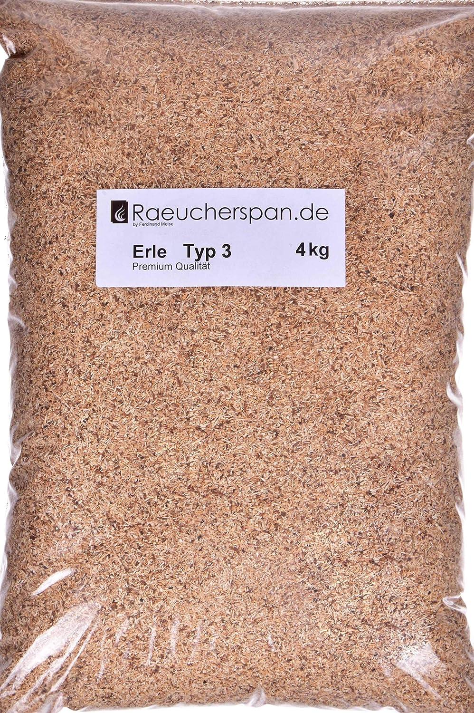 R/äuchersp/äne R/äuchermehl Erle Typ 3 mittelfein Spangr/ö/ße 0,3-1mm auch f/ür Sparbrand Kaltrauchgenerator geeignet R/äucherschnecke