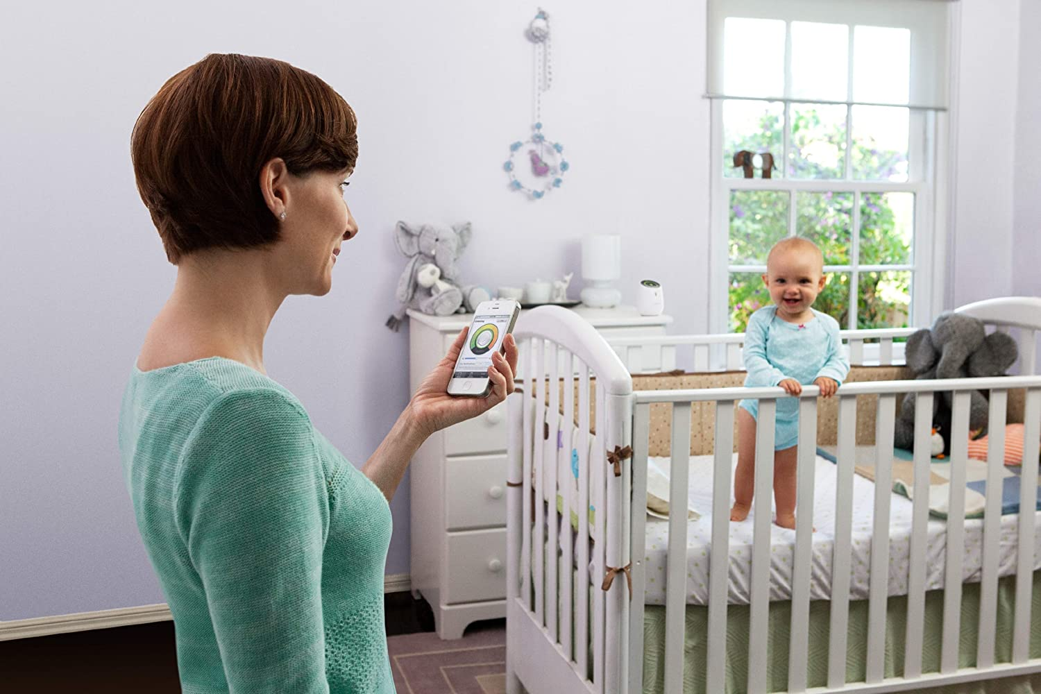 baby room monitors. Belkin WeMo Baby Monitor For Apple IPhone, IPad, And IPod Touch: Amazon.ca: Cell Phones \u0026 Accessories Room Monitors Amazon.ca