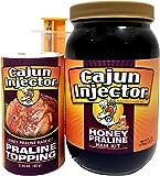 Cajun Injector 22174.21952 Honey Praline Ham Kit with Praline Topping