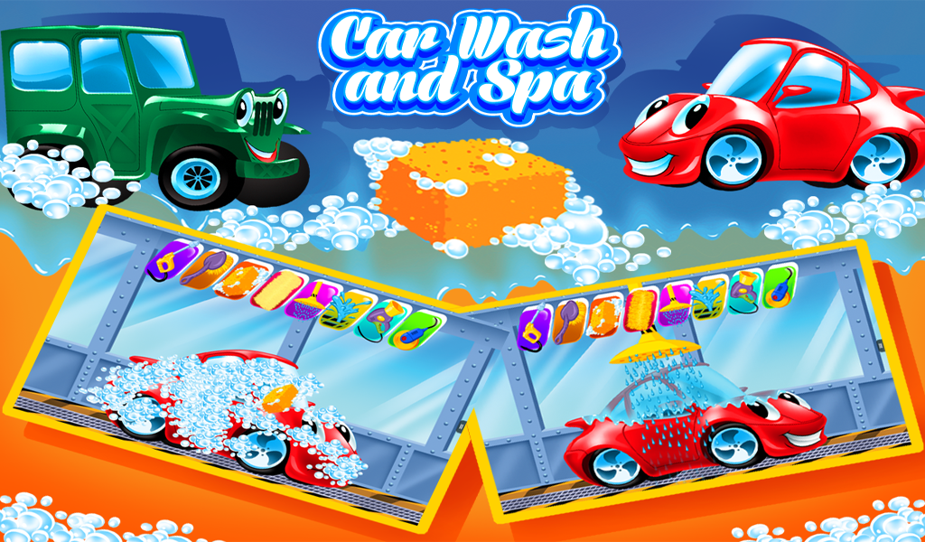 Car Wash And Spa Full Game
