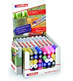 edding 4-50536 Deko Marker Display 4000/4040, 40 Stifte, Beschichteter Karton