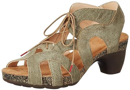 86d226bcdf55aa Think! Damen Traudi Slingback Sandalen  Amazon.de  Schuhe   Handtaschen