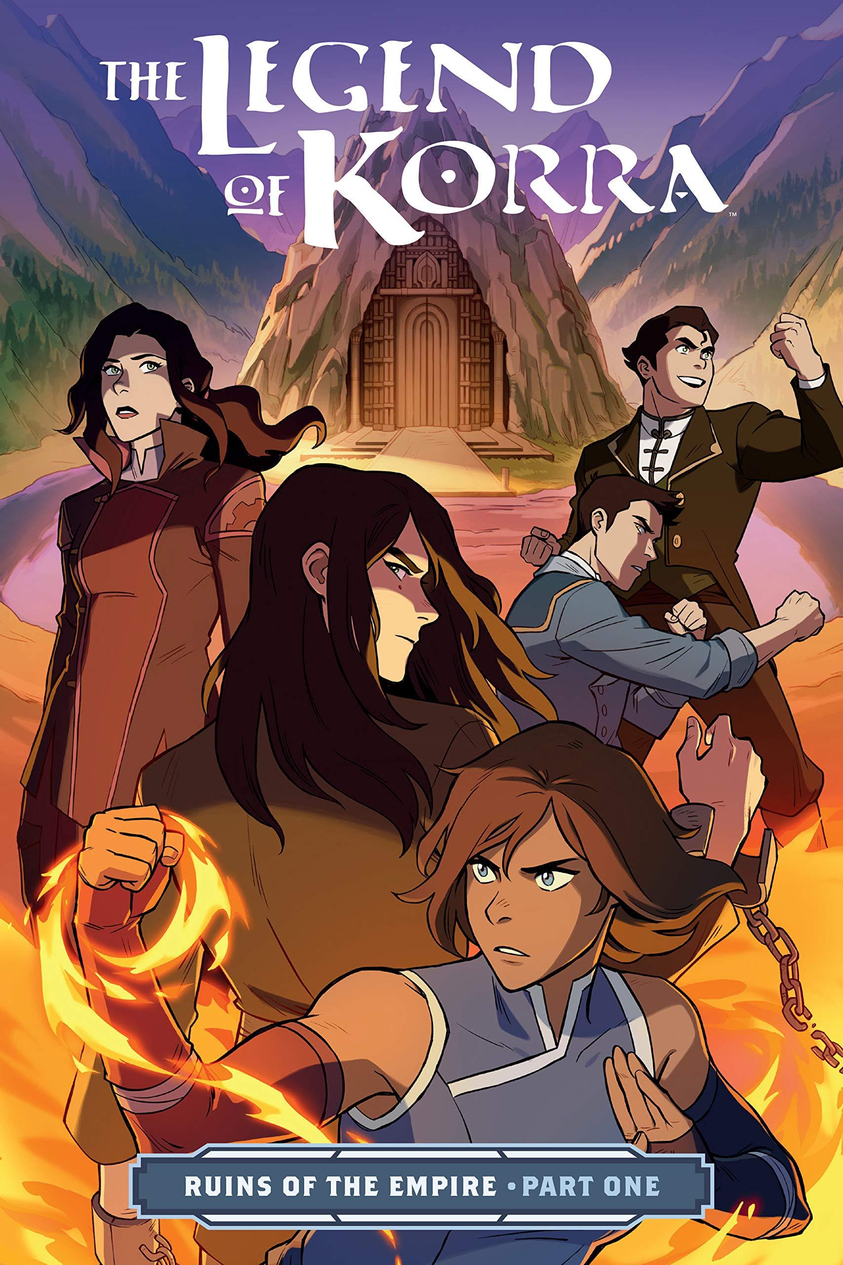 The Legend of Korra: Ruins of the Empire Part One : DiMartino, Michael Dante, Konietzko, Bryan, Wong, Michelle, Ng, Killian: Amazon.fr: Livres