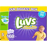 Luvs Ultra Leakguards Diapers Size 5, 168 Count