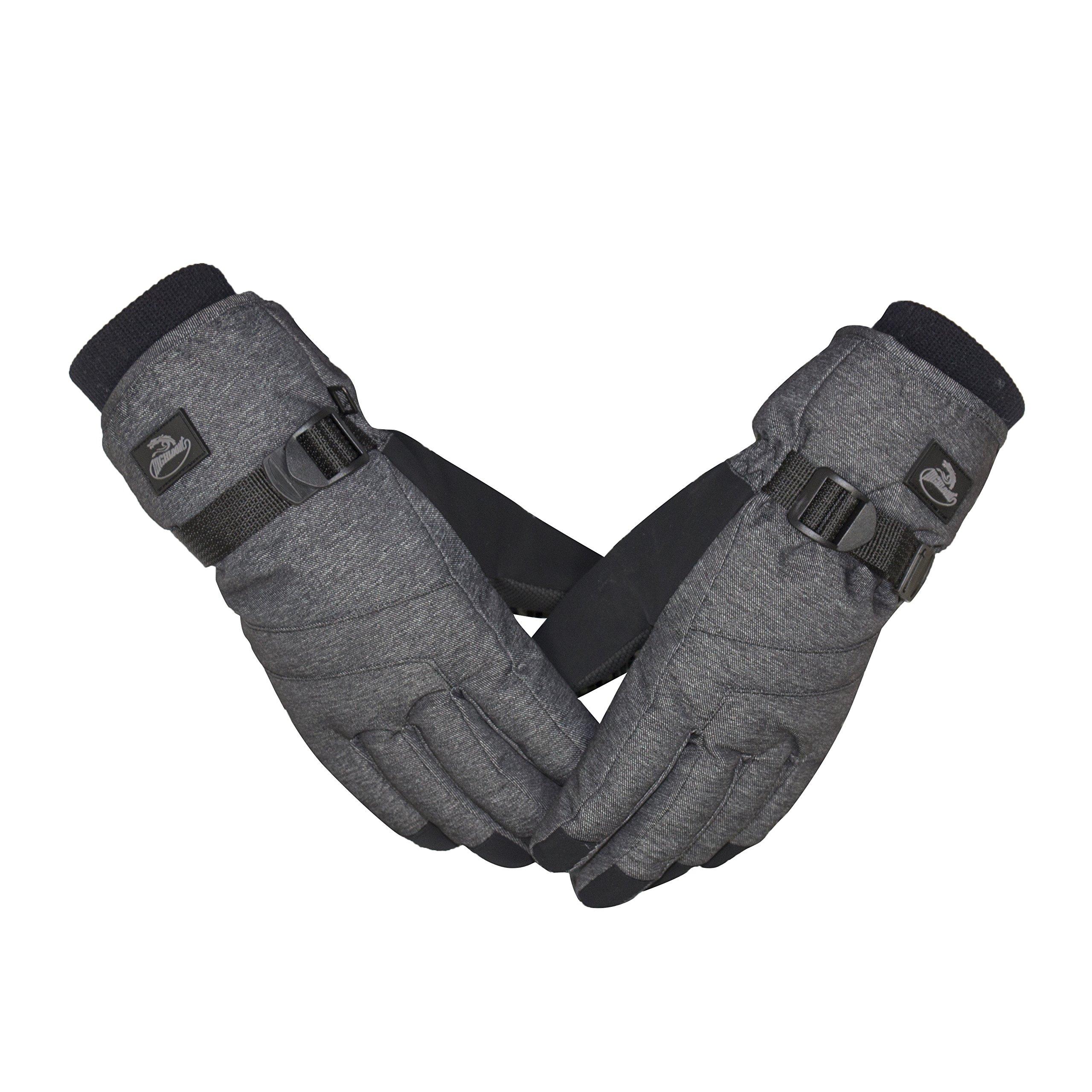 HighLoong Men Ski Snowboard Gloves