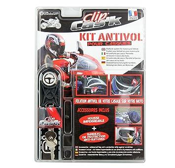 CLIP CASK 79201 Kit antirrobo para Casco Moto