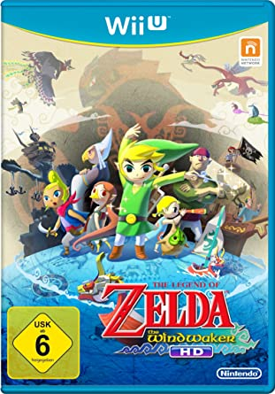 Nintendo The Legend of Zelda: The Wind Waker HD, Wii U - Juego ...