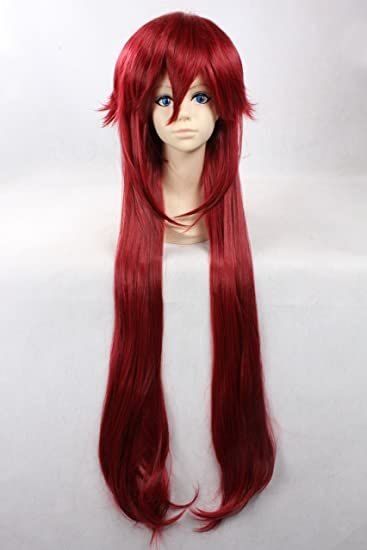 Cosplay Wig Red Wig Short Red Straight Wig Wigs  Amazon.co.uk  Clothing bbc57c686